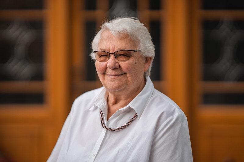 Seniorchefin Elfriede Bahrenburg