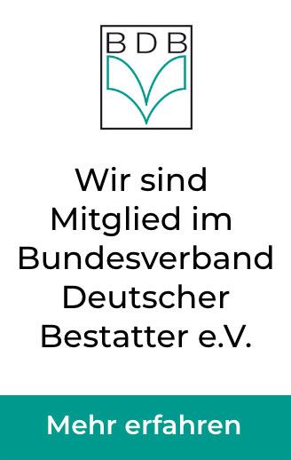 Wir sind Mitglied im Bundesverband Deutscher Bestatter e. V.